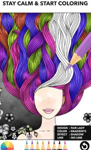 Color Therapy livre de coloriage pour les adultes 2