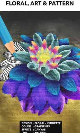 Color Therapy livre de coloriage pour les adultes 4