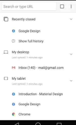 Navigateur GoogleChrome 4