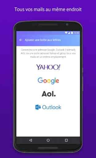 Yahoo Mail – Restez organisé! 1
