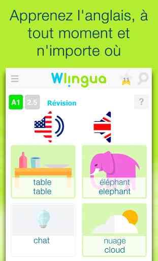 Apprendre l'anglais - Wlingua 1