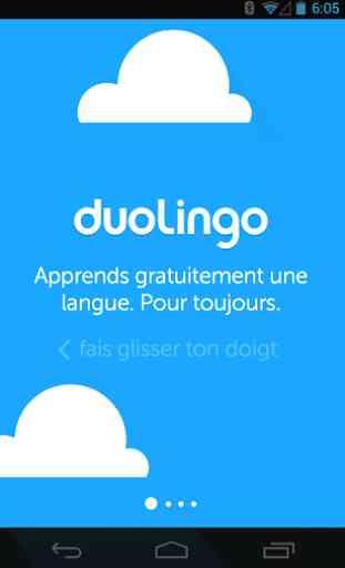Duolingo - Apprenez l'anglais 1