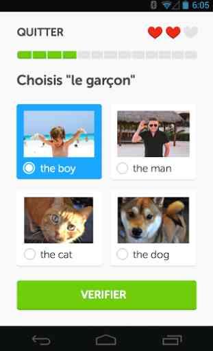 Duolingo - Apprenez l'anglais 3
