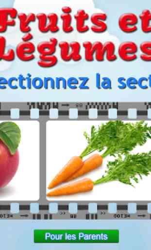 Je découvre: fruits et légumes 1