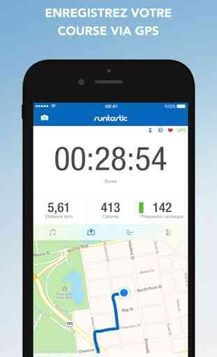 Runtastic GPS PRO Suivi Course à pied, Marche 1