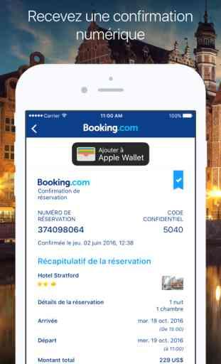 Booking.com - réservations et offres d'hôtels 2