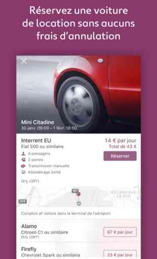 vol et location de voiture