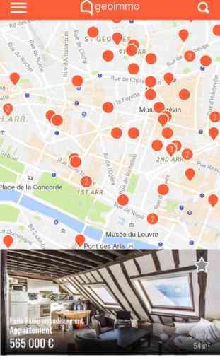 Immobilier Geoimmo - Acheter et louer un logement en fonction de sa localisation 1