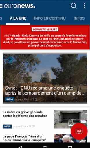 Euronews 1