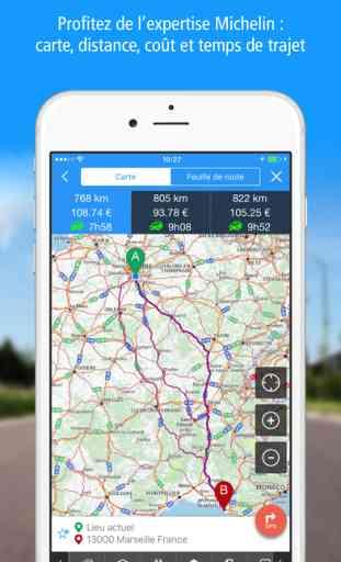 ViaMichelin : GPS, Trafic, Itinéraire 1