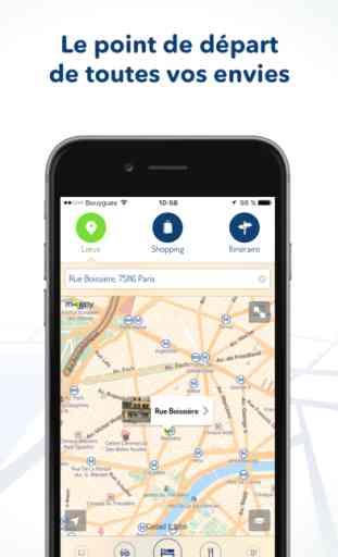 Mappy – itinéraire et recherche locale 1