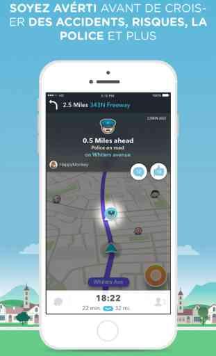 Waze - GPS, Maps & Trafic Communautaire 2