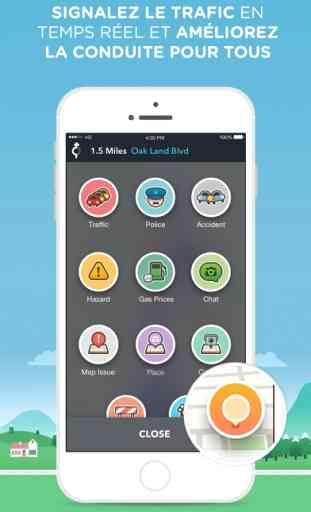Waze - GPS, Maps & Trafic Communautaire 3