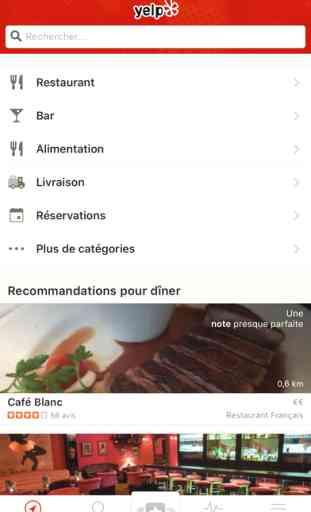 Yelp - Avis de Restaurants 1
