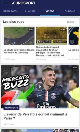 Eurosport, toutes les news sport 1