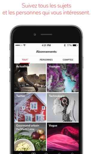 Flipboard: L'actualité de votre magazine social 1