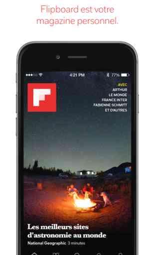 Flipboard: L'actualité de votre magazine social 3