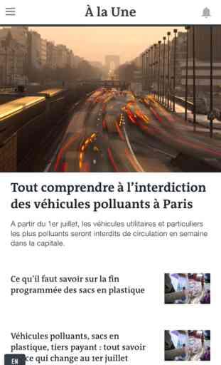 Le Monde, l'info en continu 1