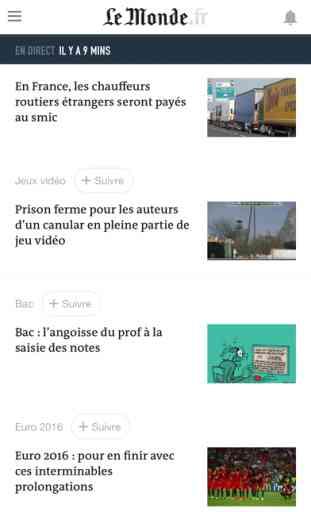 Le Monde, l'info en continu 2