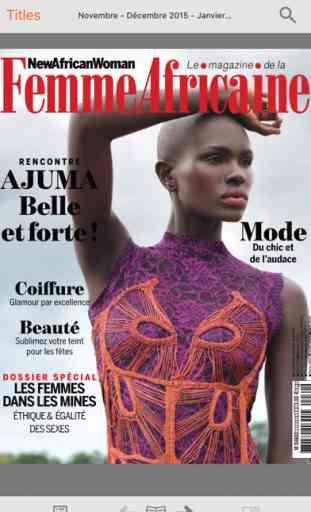 New African Woman, magazine de la femme africaine 1