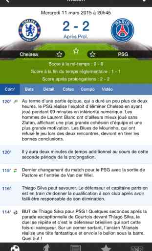 Résultats Foot en Direct 3