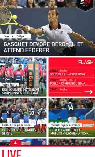 Sport 24 : L'actu sport en direct 1
