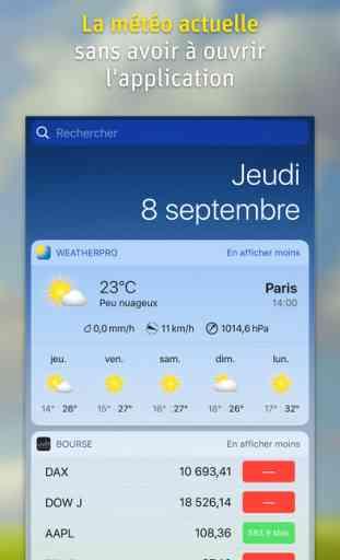 WeatherPro - L'App météo 3