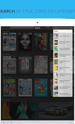 Zinio - Le Kiosque de Magazines Numériques 2