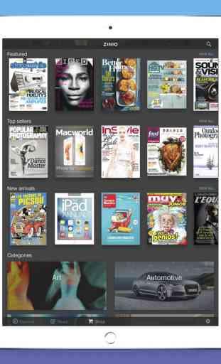 Zinio - Le Kiosque de Magazines Numériques 4