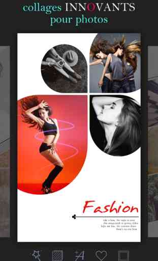 Mixoo - Photo Collage Montage, Éditeur de Cadre 1