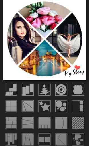 Mixoo - Photo Collage Montage, Éditeur de Cadre 2