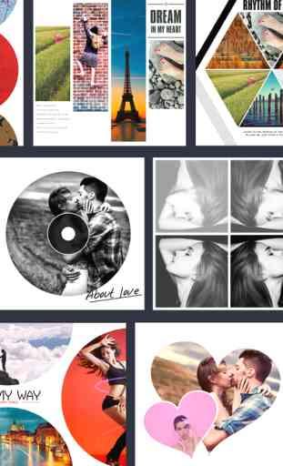 Mixoo - Photo Collage Montage, Éditeur de Cadre 3