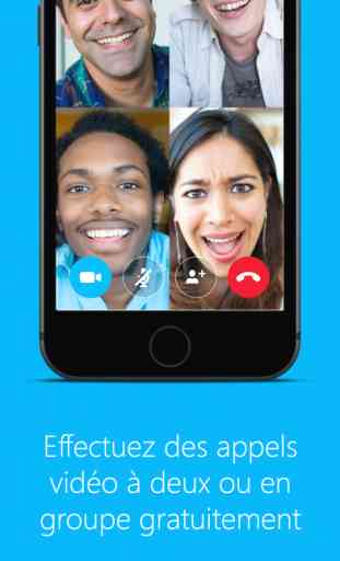 Skype pour iPhone 1