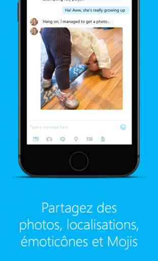 Skype pour iPhone 2