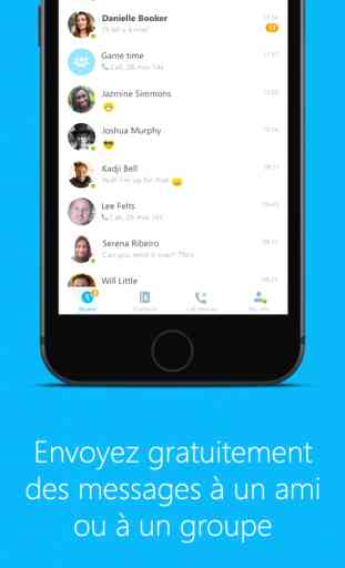 Skype pour iPhone 3