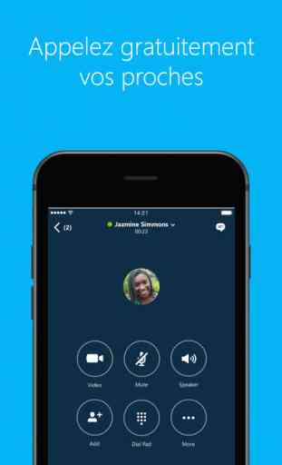 Skype pour iPhone 4