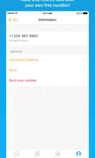 Text Me! - Free Texting, Messaging and Phone Calls 2