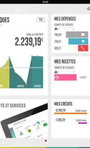 Mes Comptes Bnp Paribas Pour Ipad Application Ios Iphone