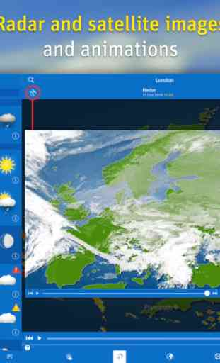 WeatherPro for iPad - L'App météo 3