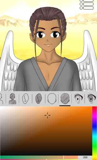 Créateur d'avatars : Anime 4