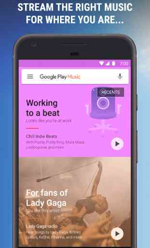 Google Play Musique 1