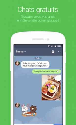 LINE: Appel & message GRATUITS 1
