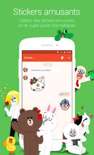LINE: Appel & message GRATUITS 3