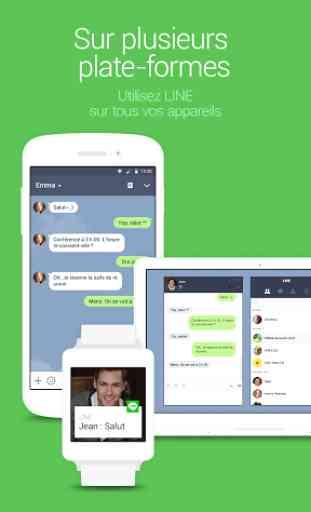 LINE: Appel & message GRATUITS 4