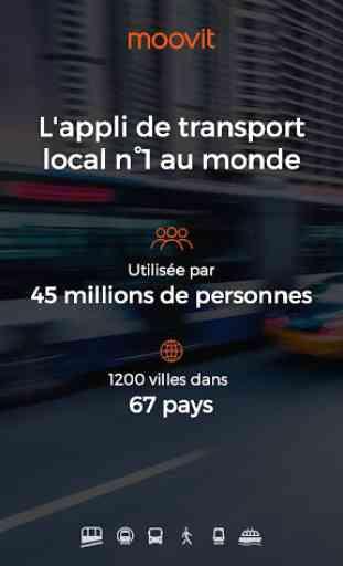 Moovit : Bus & Métro Horaires 1