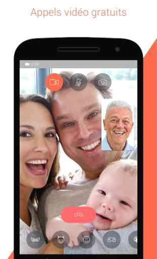 Tango : SMS, appels & vidéo 1