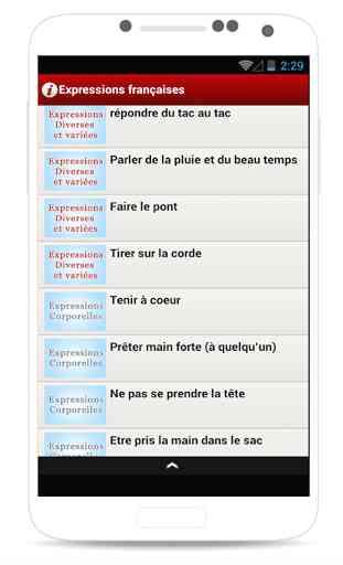 Expressions françaises 1