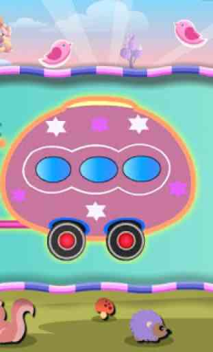 Kids Train Learning Videos ABC 3