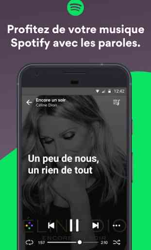 Musixmatch Paroles de chanson 2