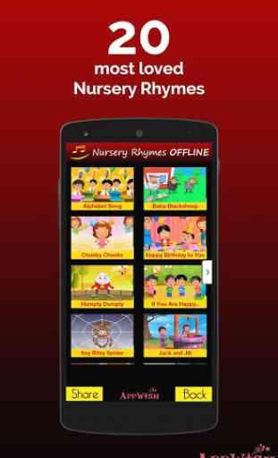 NURSERY RHYMES VIDEOS OFFLINE 1